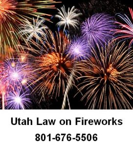 Utah Law on Fireworks