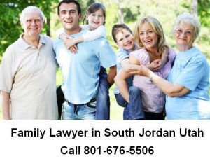 family lawyer in South Jordan Utah