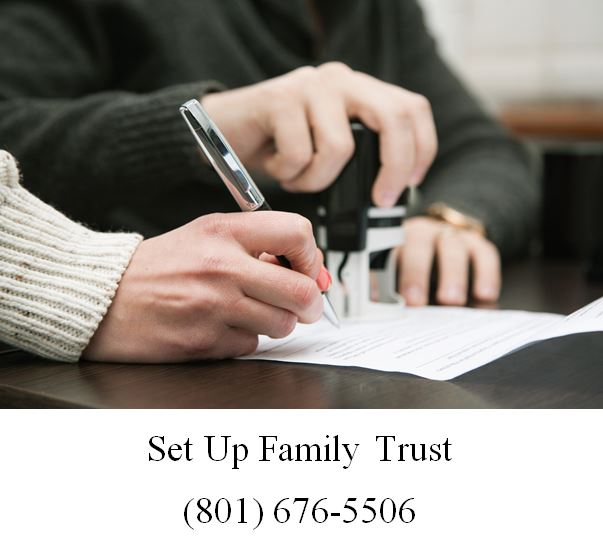 Set up family trust