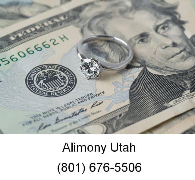 alimony utah