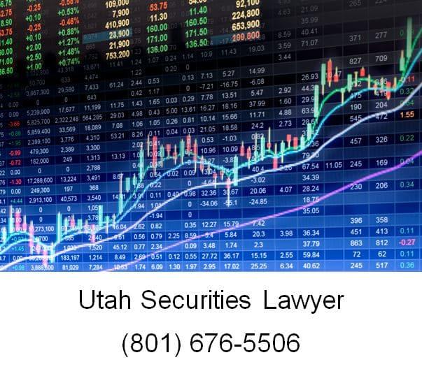 utah securities lawyer