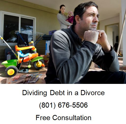 dividing debt in a divorce