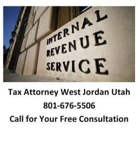 tax attorney west jordan utah
