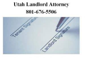utah landlord attorney