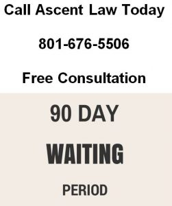 90 day waiting period for divorce in utah