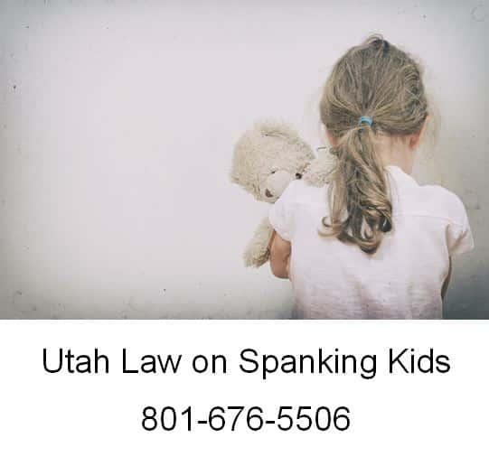 Utah Law on Spanking Kids