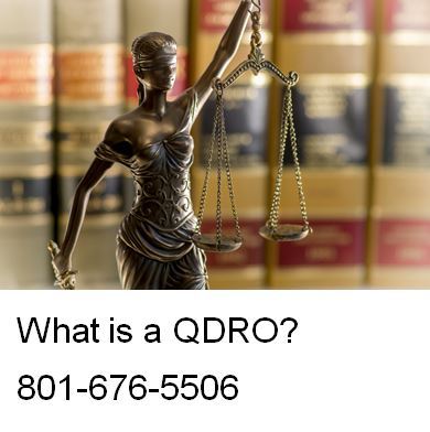 What is a QDRO