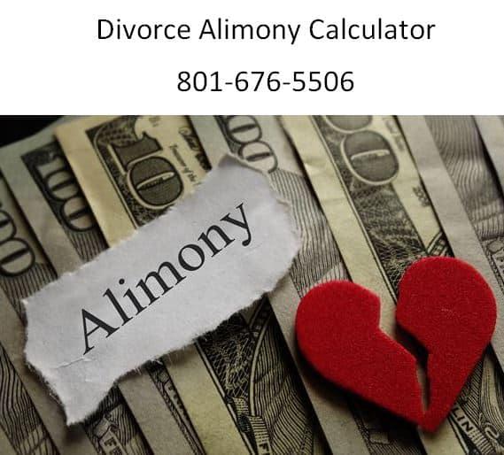 divorce alimony calculator