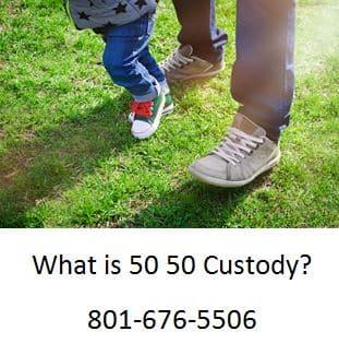 what is 50 50 custody