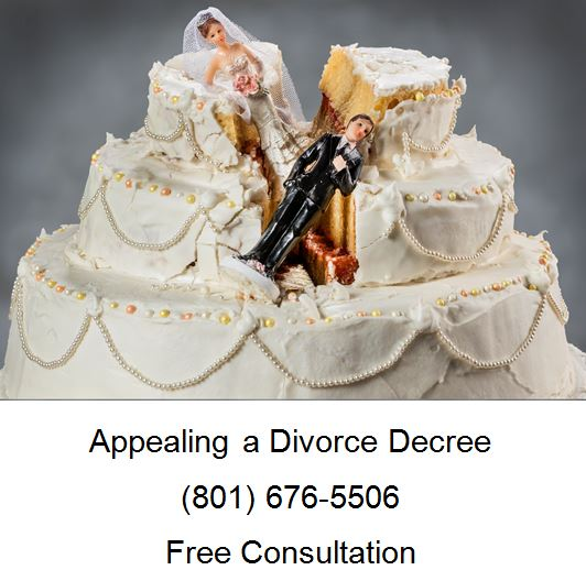 appealing a divorce decree