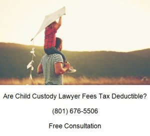 are child custody lawyer fees tax deductible