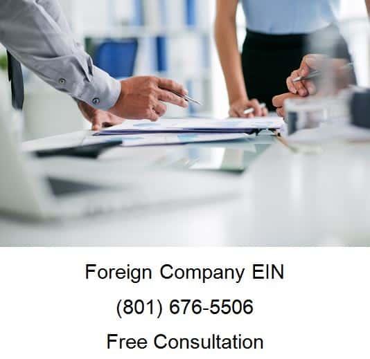 foreign company ein