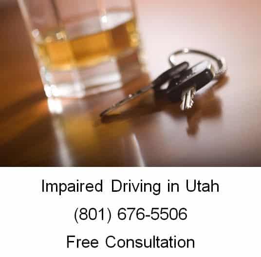 impaired driving in utah