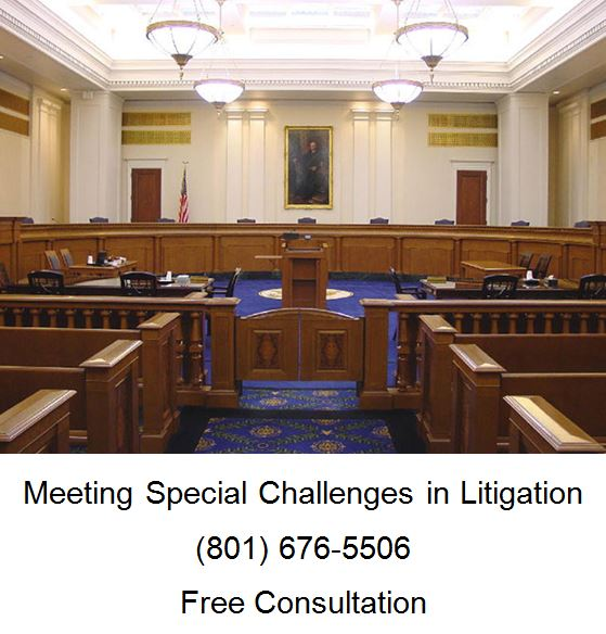 meeting special challenges in litigation