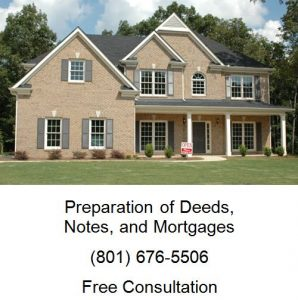 preparation of deeds notes and mortgages