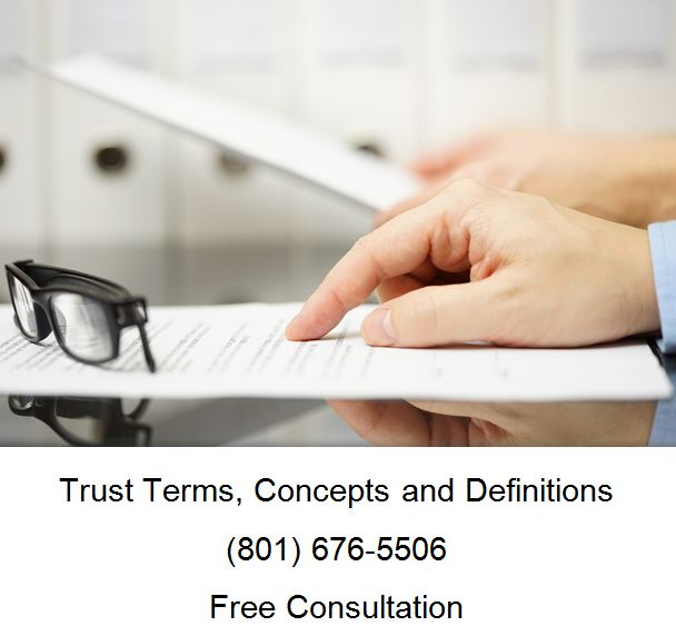 trust terms concepts and definitions
