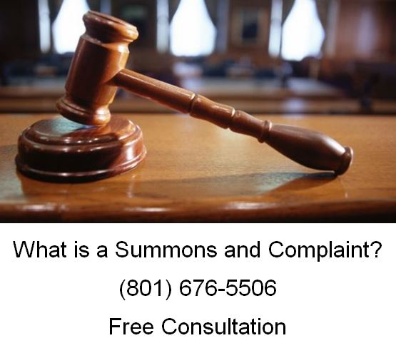 what is a summons and complaint
