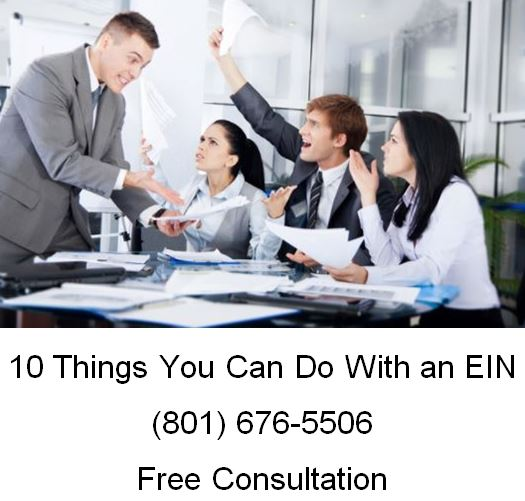 10 things you can do with an EIN