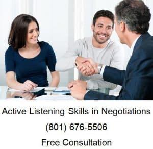 active listening skills in negotiations