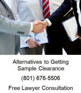 alternatives to getting sample clearance
