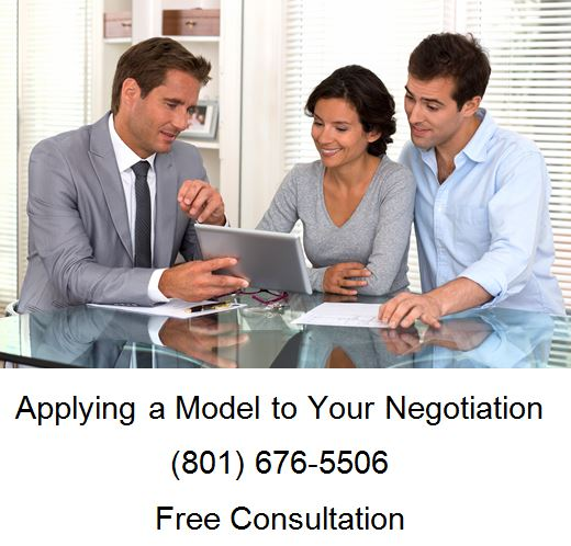 applying a model to your negotiation