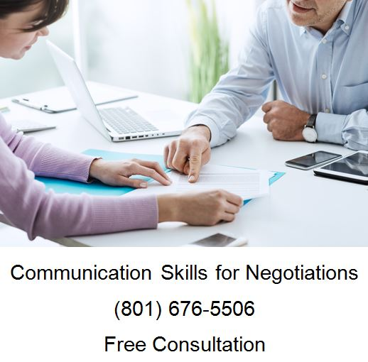 communication skills for negotiations