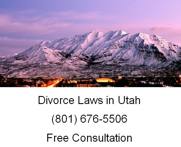 divorce laws in utah