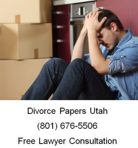 divorce papers utah