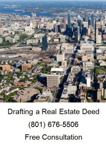 drafting a real estate deed