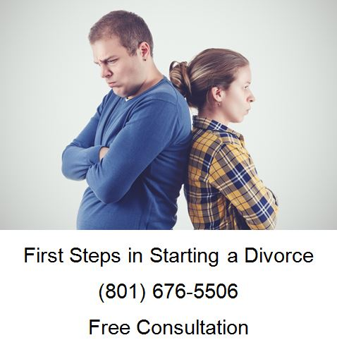 first steps in starting a divorce action