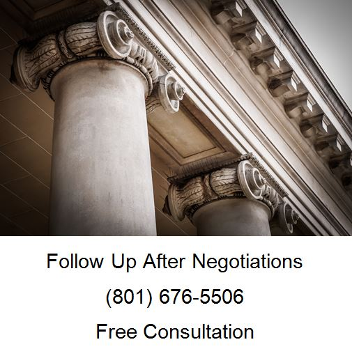 follow up after negotiations
