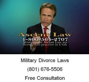 military divorce laws