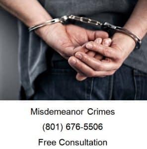 misdemeanor crimes