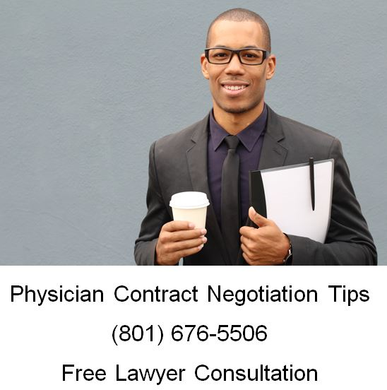 physician contract negotiation tips