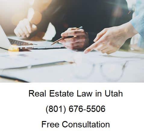 real estate law in utah
