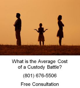 what is the average cost of a custody battle