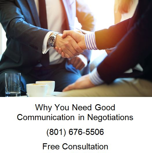 why you need good communication in negotiations
