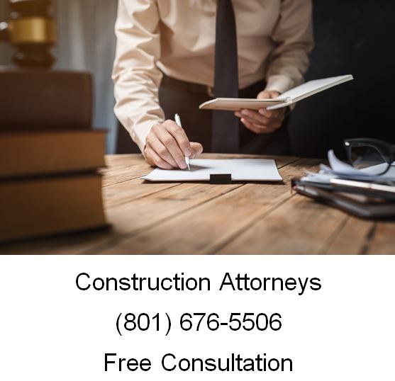 Need a Construction Attorney in Utah