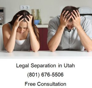 how to file a legal separation in utah