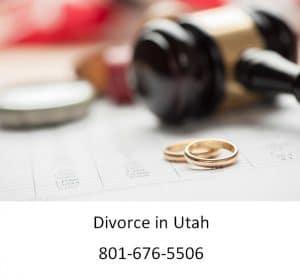 Utah Dissolution and No-Fault Divorce In Utah