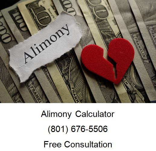 Calculating Alimony in Utah