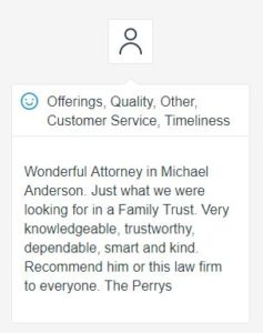 Review of Michael Anderson