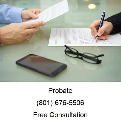 Rights Of Probate Creditors In Utah
