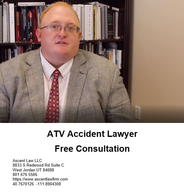 ATV Accident Lawyer Salt Lake City Utah