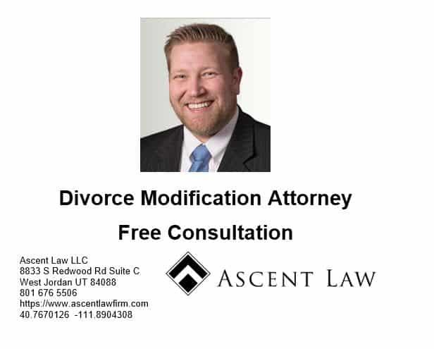 Divorce Modifications