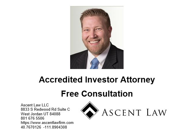 Accredited Investor Attorney