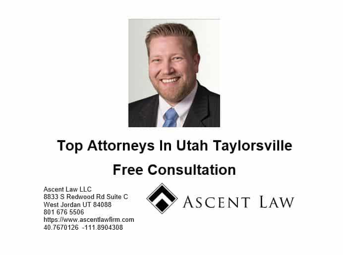 Top Attorneys In Utah Taylorsville