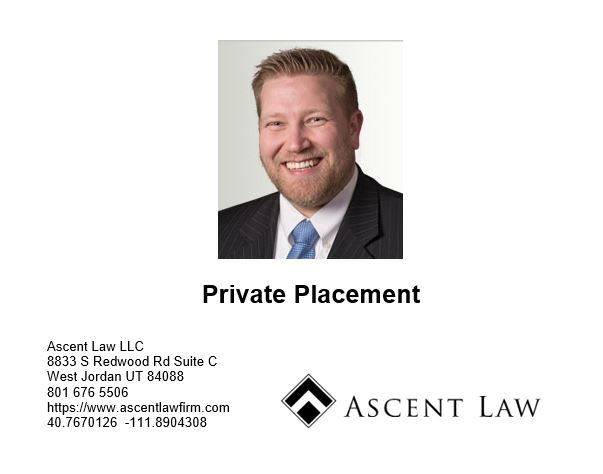 Can A Private Company Do Private Placement?