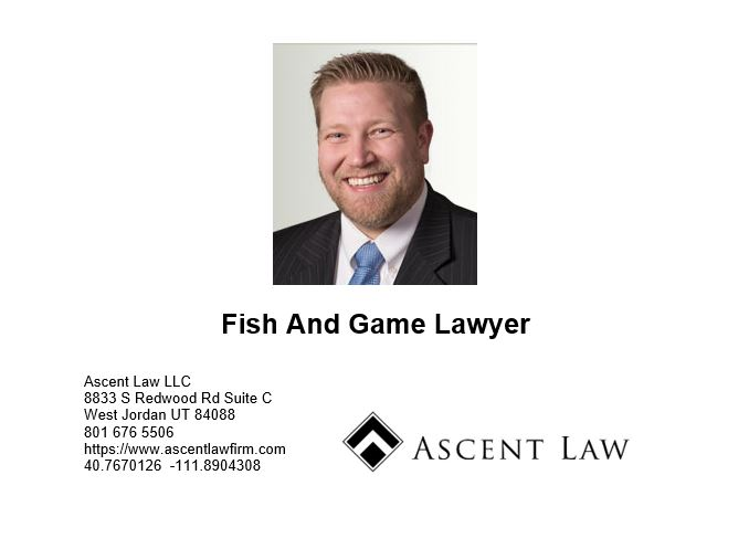 Fish And Game Lawyer