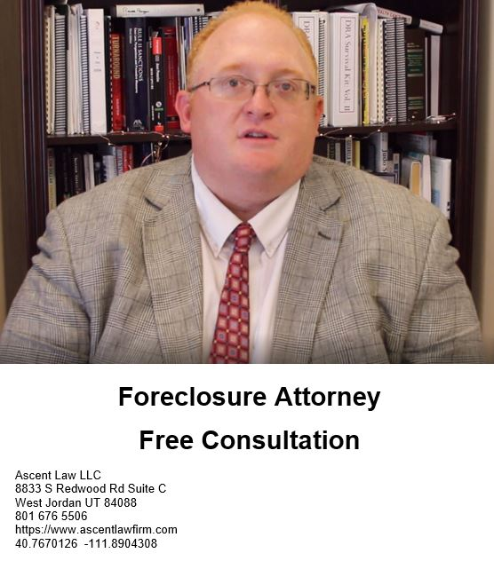 Foreclosure Lawyer Layton Utah